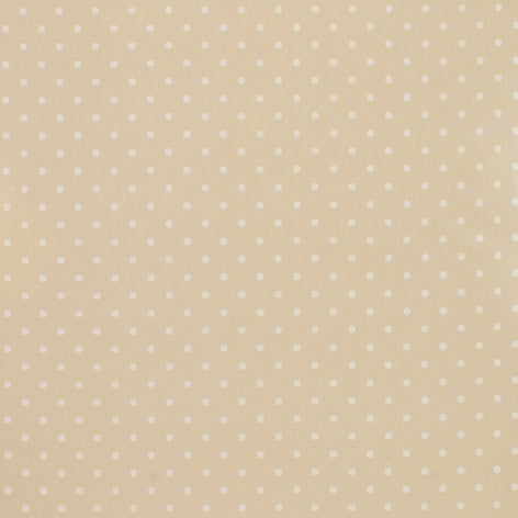 Polka Dot Linen PVC Fabric