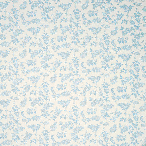 Blue Printed Fabric