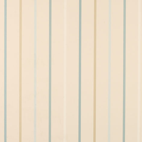 Draycott Stripe Duck Egg Wallpaper