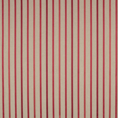 Luxford Stripe Cranberry Upholstery Fabric