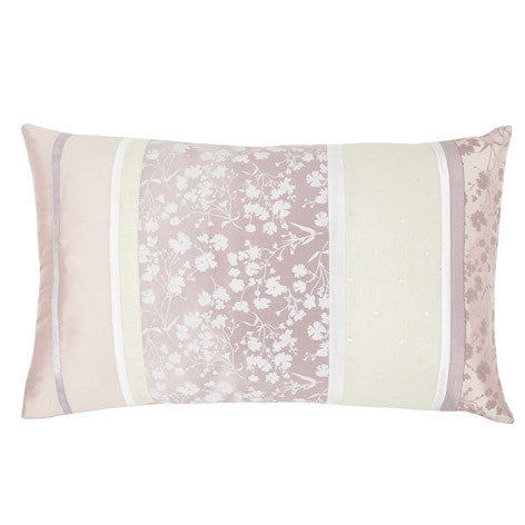 Ella Silk Amethyst Cushion