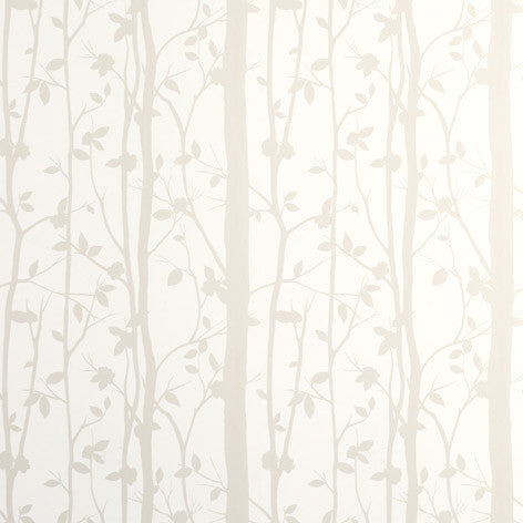 Cottonwood White Wallpaper