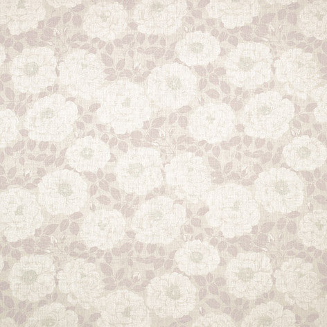 Floral Printed Linen with Nylon Fabric