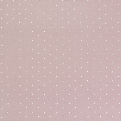 White Polka Dot Fabric