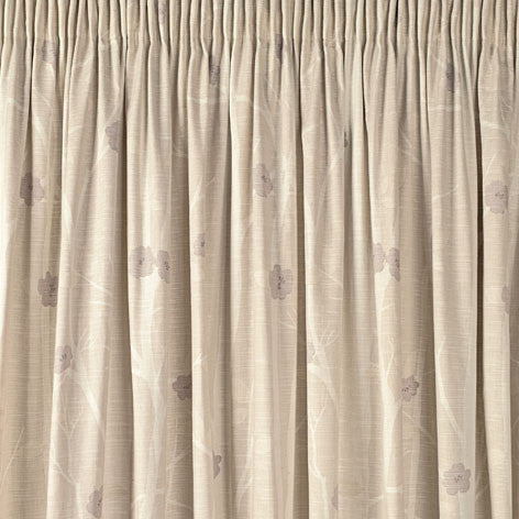 Cottonwood Natural Pencil Pleat Ready Made Curtains