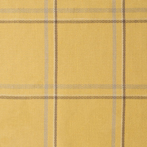 Yellow Check Upholstery Fabric