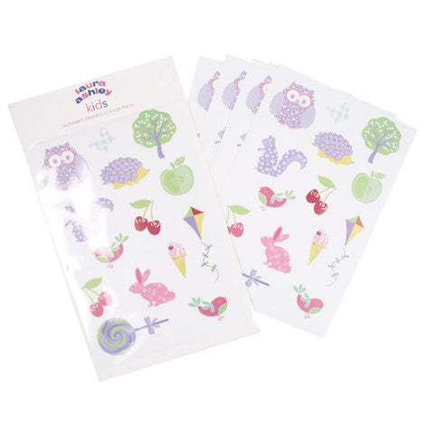Alphabet Friends Sticker Set
