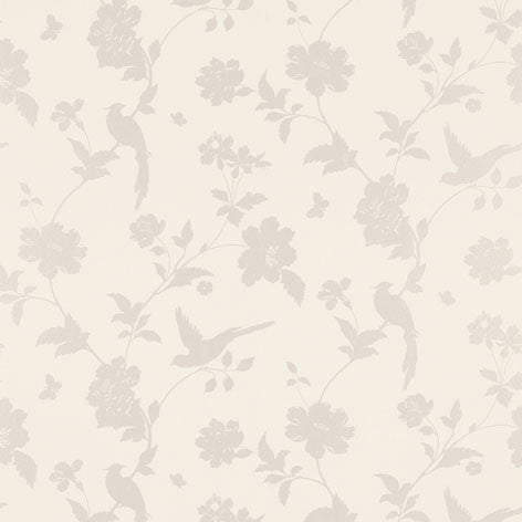 Farleigh White Wallpaper