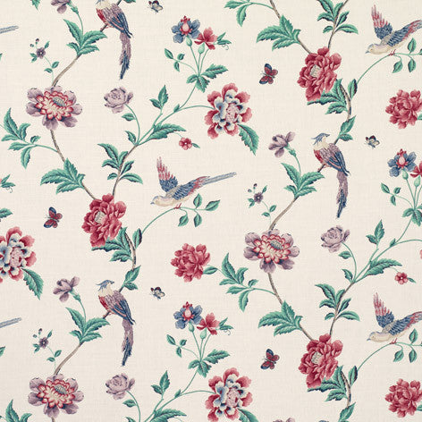 Bold Floral Drapery Fabric
