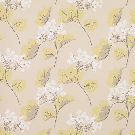 Millwood Truffle Camomile Wallpaper