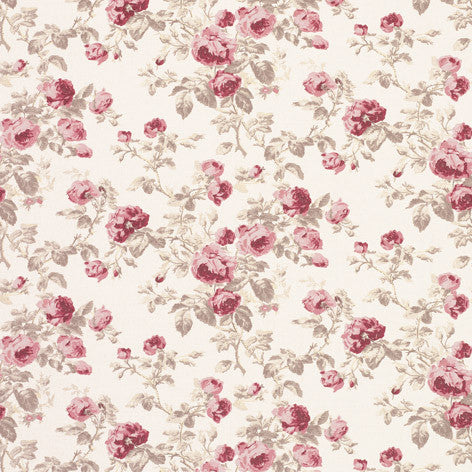 Roses Cassis Fabric