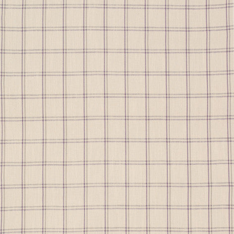 Corby Check Amethyst Fabric