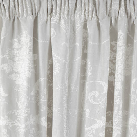 Josette Dove Grey Ready Made Curtains