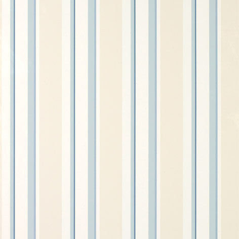 Eaton Stripe Seaspray Wallpaper