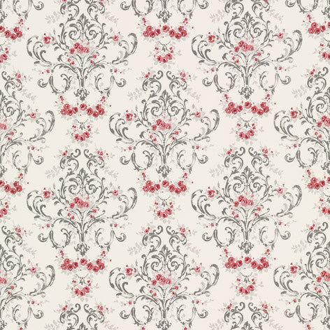 Mansfield Cranberry Fabric