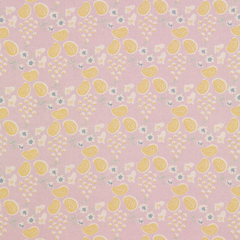 Charleston Grapes Plum Fabric