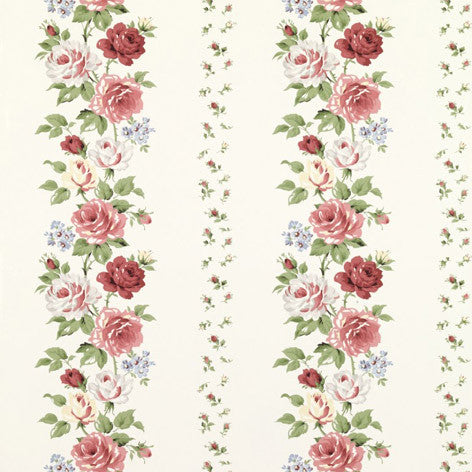 Clarissa Multi Ivory Wallpaper