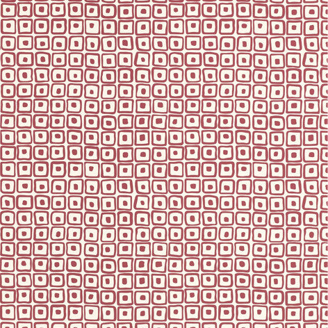 Red Geometric Pattern Wallpaper