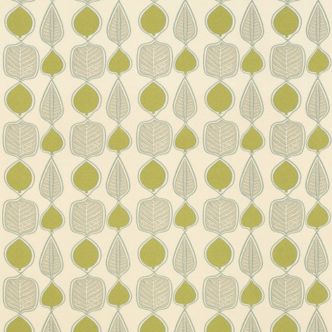 Wykeham Leaf Fabric