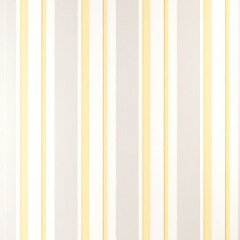Eaton Stripe Camomile Wallpaper