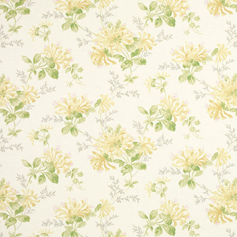 Linen-mix Printed Fabric