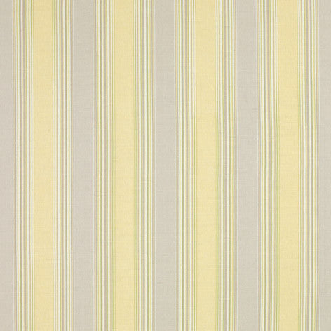 Seymour Stripe Camomile Fabric