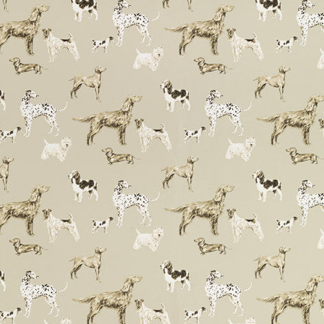 Hunterhill Dark Linen Wallpaper