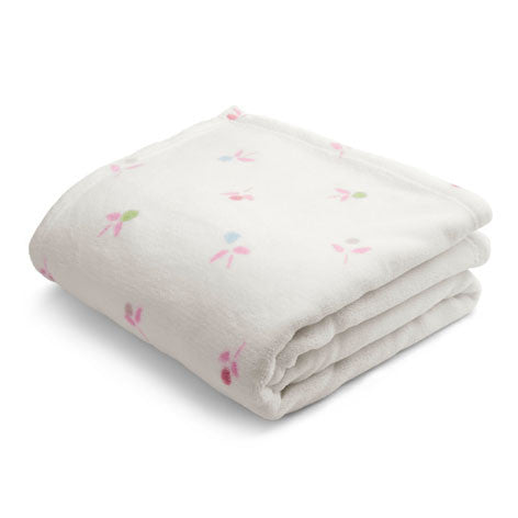 Cottage Sprig Fleece Throw