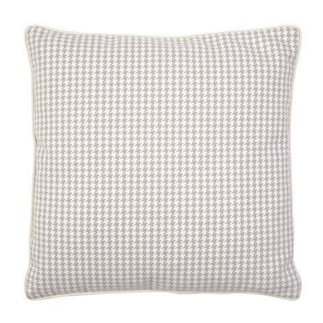 Bannatyne Dogtooth Dove Grey Cushion