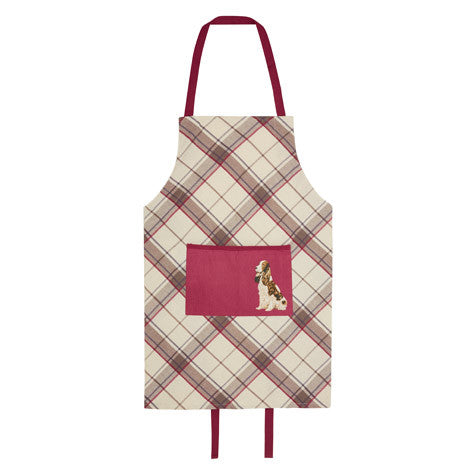 Highland Check Apron