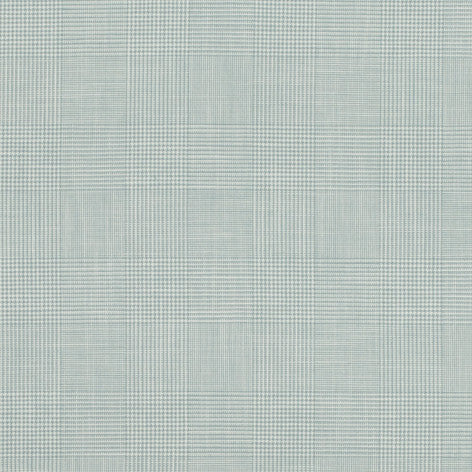 Blue Woven Check Fabric