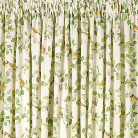 Aviary Garden Apple Ready Made Curtains