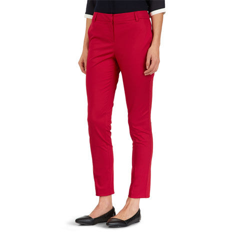 Cotton Sateen Tapered Trouser