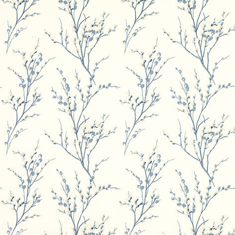 Soft Blue Branches Wallpaper