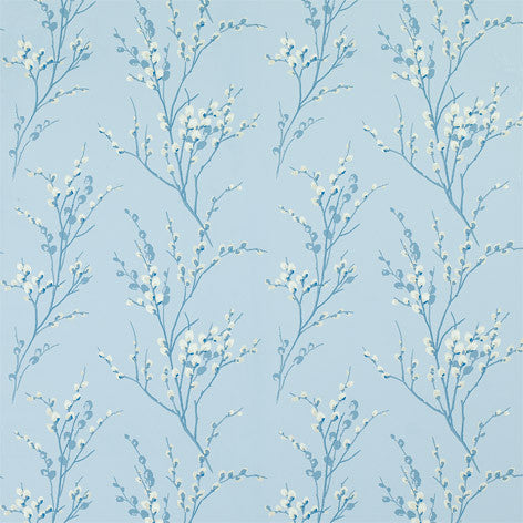 Light Blue Pattern Designer Fabric