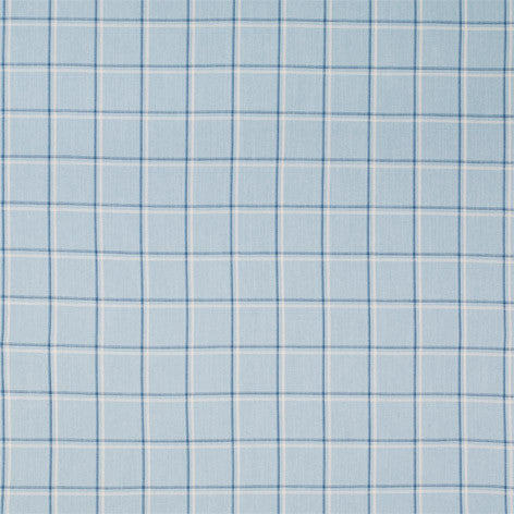 Light Blue Check Fabric