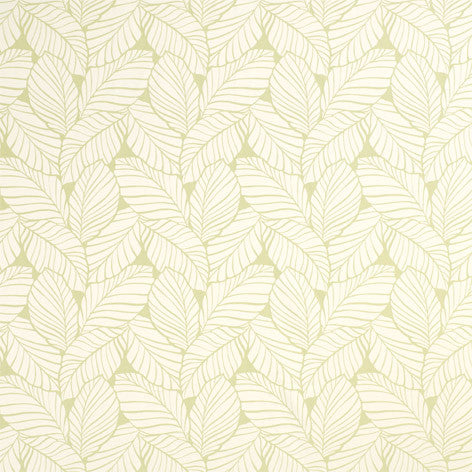 Palm Leaf Apple Fabric