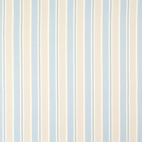 Rye Stripe Seaspray Blue Fabric