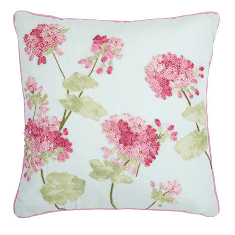 Geranium Pale Topaz Cushion