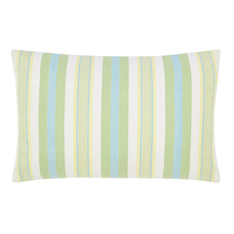 Croyde Stripe Apple Cushion