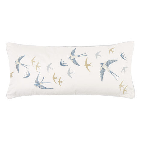 Bluebirds Seaspray Cushion