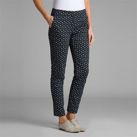 Daisy Print Cotton Trouser