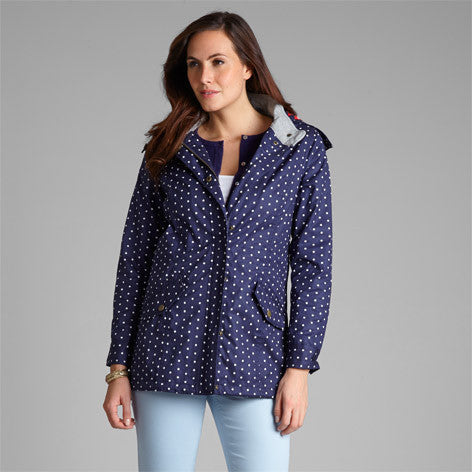 Polka Dot Printed Raincoat