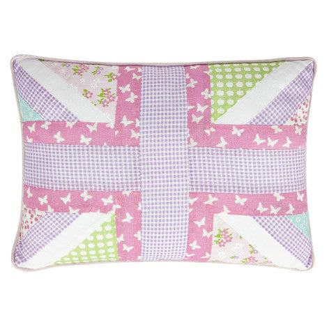 Clementine Patchwork Cushion