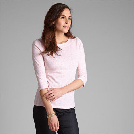 Boat Neck Cotton Top