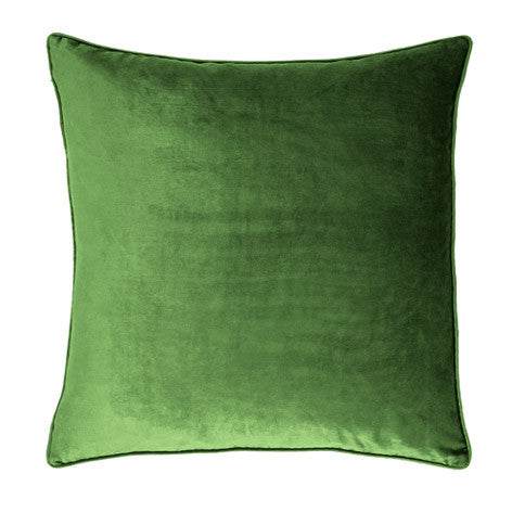 Nigella Forest Green Square Velvet Cushion