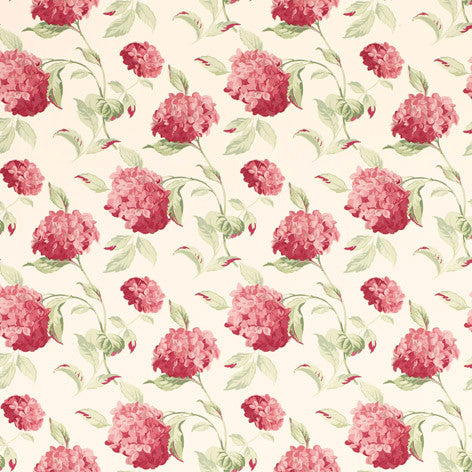 Hydrangea Cranberry Wallpaper
