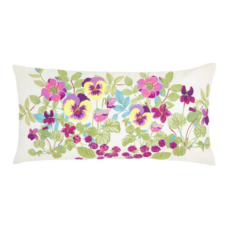 Ella Berry Embroidered Cushion