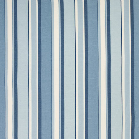 Eaton Stripe Royal Blue Fabric