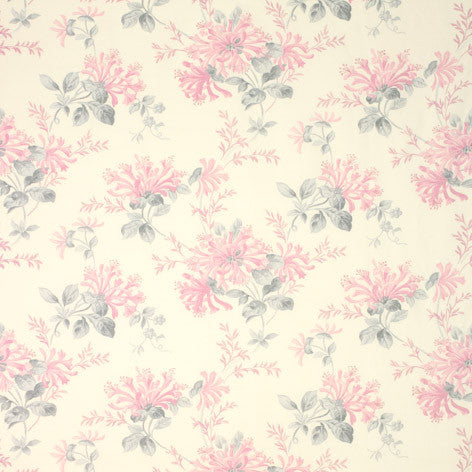Honeysuckle Trail Cyclamen Fabric